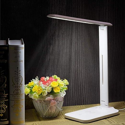 DYM258 Lámpara de Escritorio con Cargador inalámbrico ...