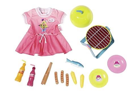 bunt Babypuppen & Zubehör Zapf Creation 824481 Baby Born Sommerkleid Set mit Pins