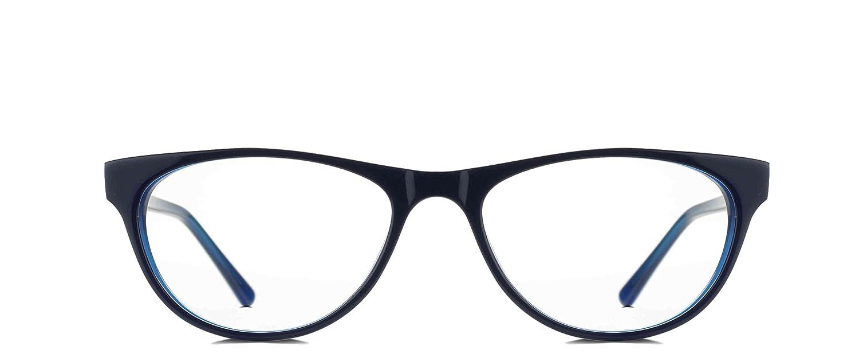 7dd2c16c6bdd REACTR- Cat Eye Glasses Premium Optical Specs Full Frame Eyeglasses For  Women (Black|52|Clear|Rx-able |EL205-C1): Amazon.in: Clothing & Accessories