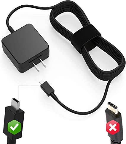 Genuine Asus Chromebook ADP-24EW B Charger AC Power Adapter Square Tip 12V 24W