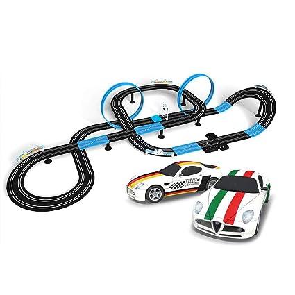ToyToy Racing Track Niñoscon Juguete Car Gran Para Control TKJcuFl351