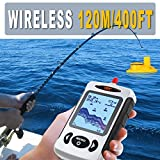 Lucky Wireless Portable Depth Sounder Fishing Finder Sonar Sensor 45M Muti-language Choose Fish finder Lure Echo