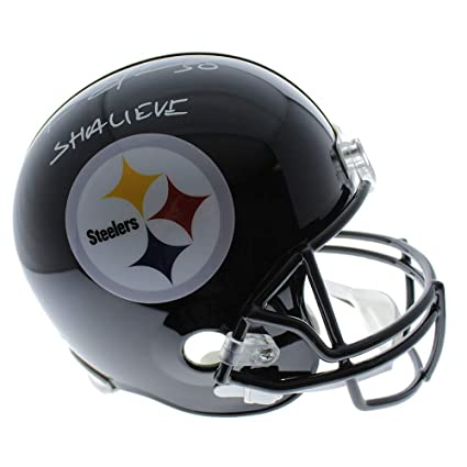 45800887beb Amazon.com  Ryan Shazier Pittsburgh Steelers Autographed Signed Full Size  Riddell Replica Helmet  SHALIEVE  - Certified Authentic  Sports Collectibles
