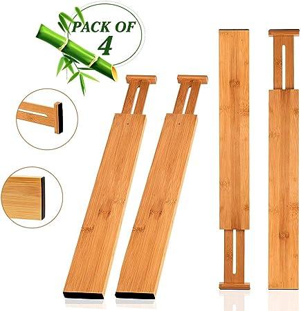 Wooden-Life Tiroir de Cuisine en Bambou pour tiroir de ...