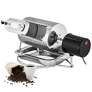 HRRH Tostador de café, Máquina para tostar Granos de café de Uso en el hogar