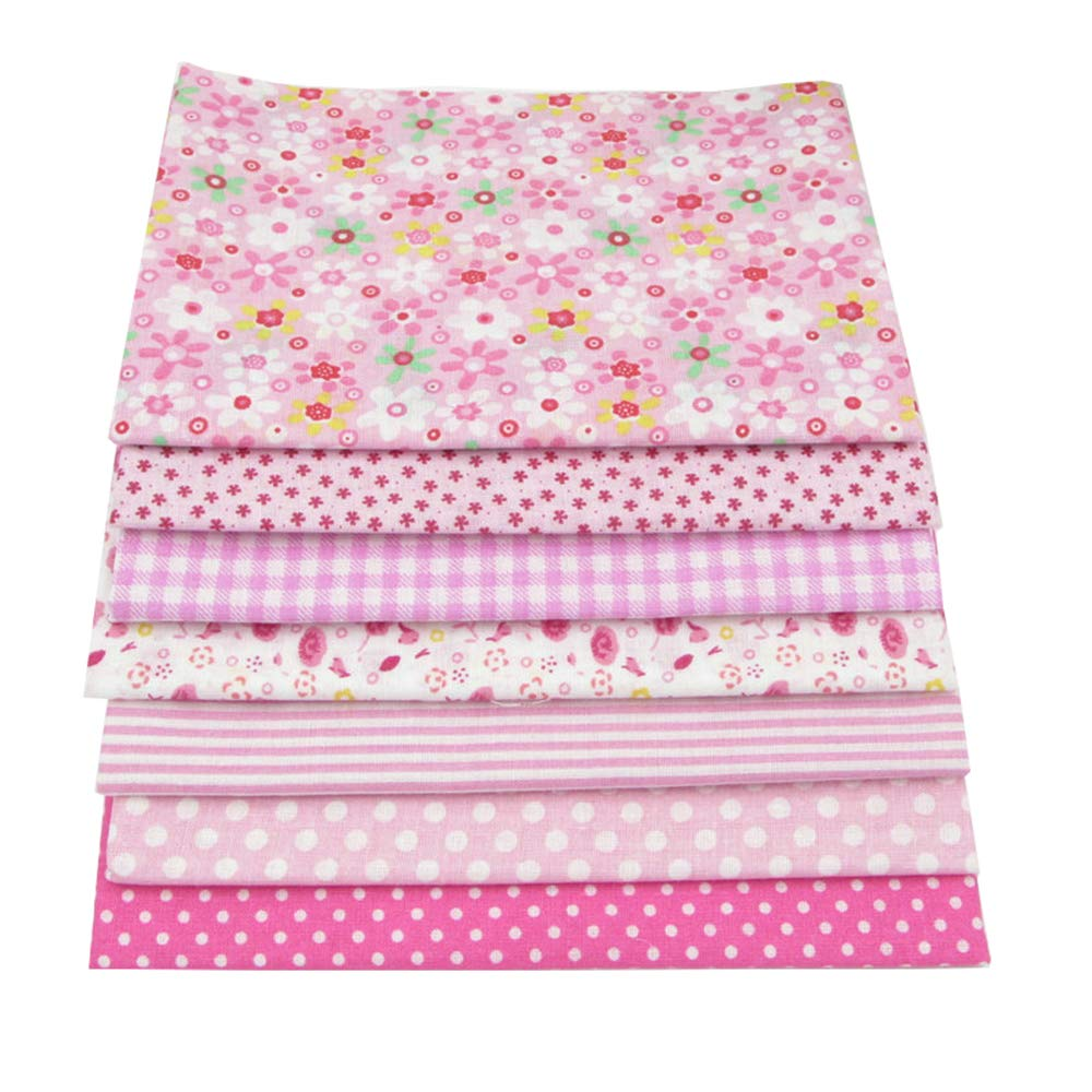 56pcs/lot 9.8'' x 9.8'' (25cm x 25cm) No Repeat Design Printed Floral Cotton Fabric for Patchwork, Sewing Tissue to Patchwork,Quilting Squares Bundles by BYY (Image #2)