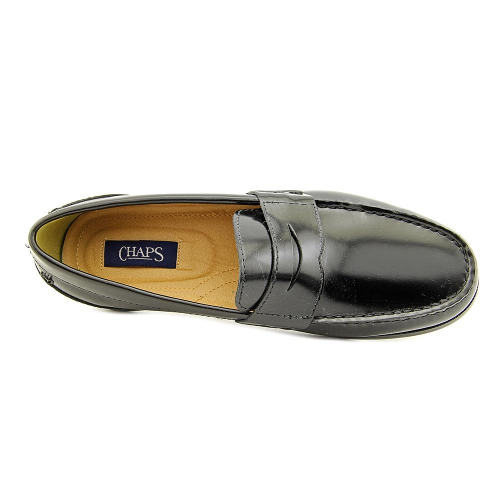 f87d77a6a24 Amazon.com  Chaps Black Contributor Penny Loafers - Men  Everything Else