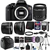 Canon EOS Rebel T6 18MP Digital SLR Camera with 18-55mm Lens and 16GB Accessory Bundle