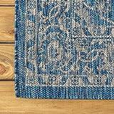 JONATHAN Y Palazzo Vine and Border Textured Weave