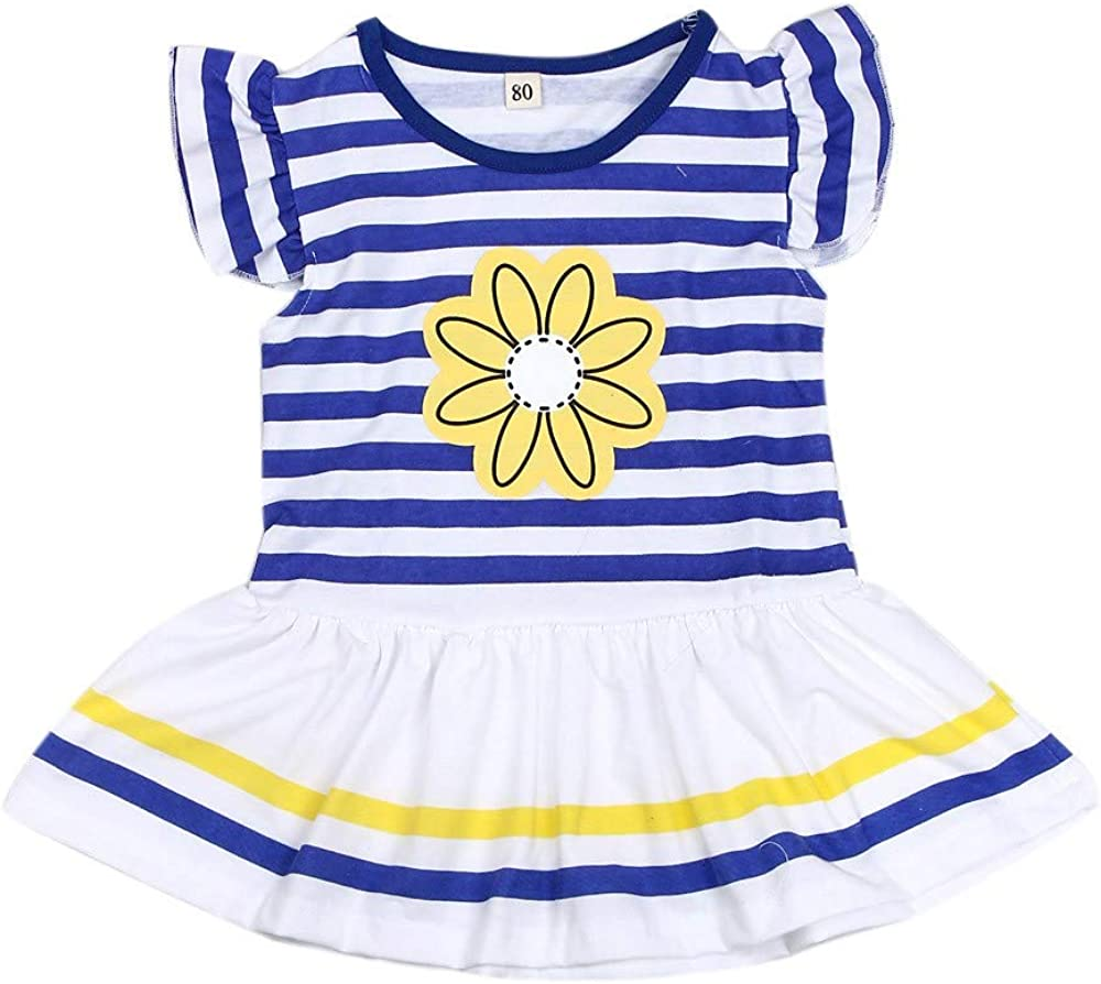 Fartido Sunsuit Romper Baby Boy Girls M-Flag Boys Shirt Shorts Two-Piece Suit