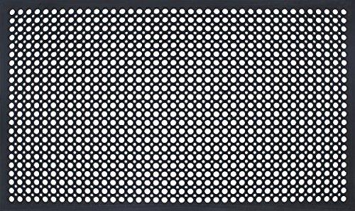 Durable Workstation Edge Anti-Fatigue Mat Drainage Mat, 36'' x 60'', Black by Durable Corporation (Image #3)
