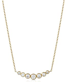 57dd9973bbec Amazon.com  Michael Kors Silver Tone Logo Heart Pendant Necklace ...