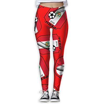 2018-football-Peru Women Printed Design Leggings Activewear Cute Legging Yoga Pants