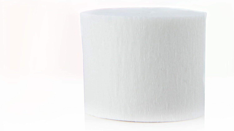 SUNBEAUTY Krepppapier Dekoration 6 Kreppb/änder 3,5cm*10m//Rolle pink