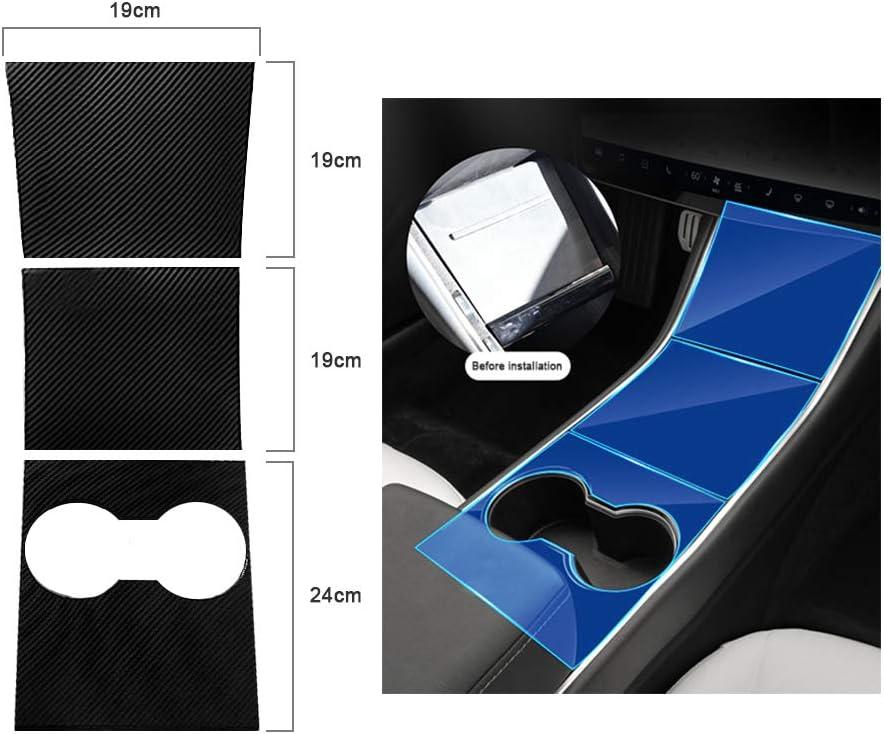 Center Console Protector Model 3 Carbon Mittelkonsole Wrap Kit Aufkleber