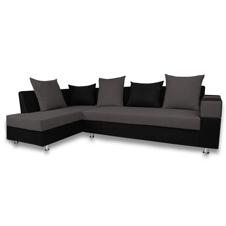 adorn india adillac 5 seater corner sofa(left side