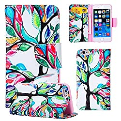 6S Plus,6 Plus Case,6S Plus Case,iPhone 6S Plus Leather Case,iPhone 6S Plus Case,Linycase Beautiful Picture [Magnetic] Style PU Leather Case Wallet Flip Stand Case for iPhone 6S/6 5.5 inch-09C