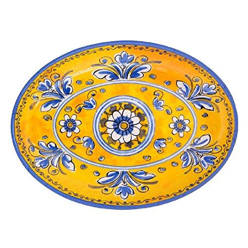 Le Cadeaux Benidorm Coupe Oval Platter, 16