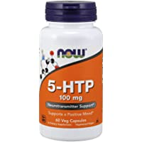 NOW 5-HTP 100 mg,60 Veg Capsules
