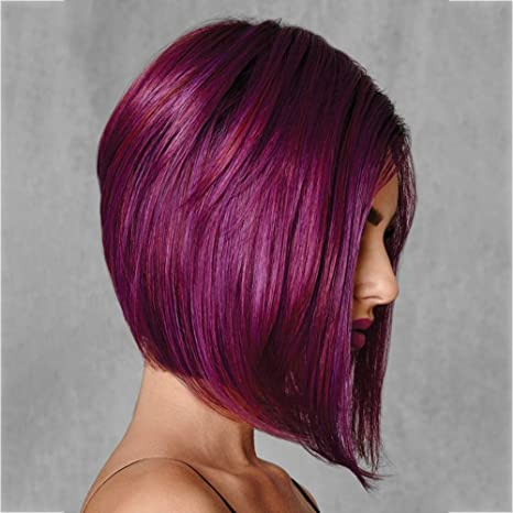 AHIN Mujer Pelucas,Longitud:11.81 Pulgadas,Gradiente Color ...