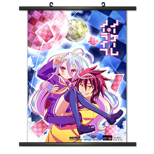 CWS Media Group Officially Licensed No Game No Life Wall Scr