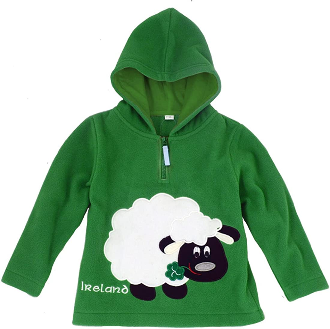 Green Traditional Ireland Sheep Kids Fleece