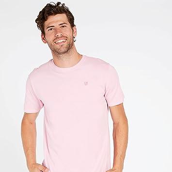 Camiseta Rosa Hombre Up Basic (Talla: 2XL): Amazon.es: Deportes y aire libre
