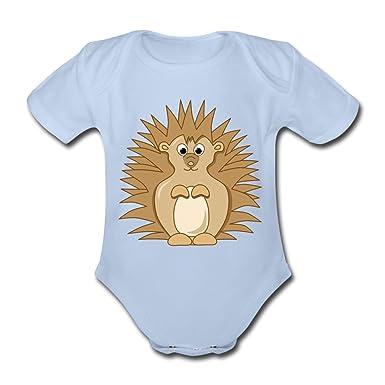 0bed4b01ac69 Cute hedgehog Organic Short-sleeved Baby Bodysuit by Spreadshirt ...