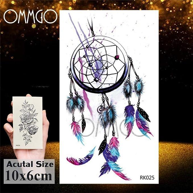 Verano Estilo 5Pcs- triángulo geométrico Cadenas tatuaje de la ...