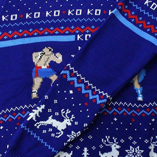 Sweater Fighter Street Chun Official Jumper Li Vs Sagat Christmas PqdrSq8