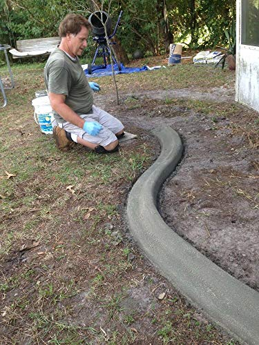 (VGS Custom Curbing Concrete Edging Landscaping DIY The Original Curb It Yourself W23178)