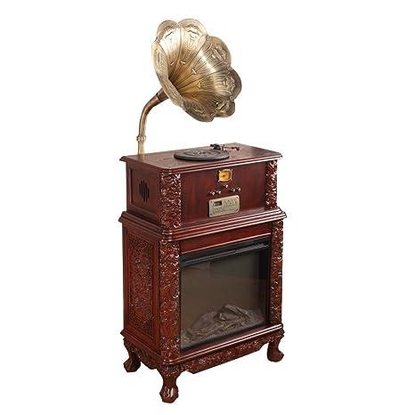 Sitang Gramófono antiguo retro gran cuerno lp gramófono ...