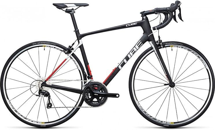 Bicicleta de carretera Cube Attain GTC carbon N Red 2017 – 60 cm ...