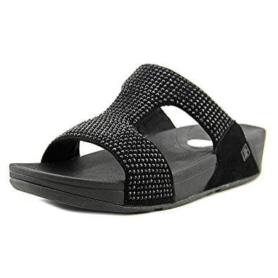f12a563b6 Image Unavailable. Image not available for. Color  FitFlop Women s Rokkit  Crystal Slide Sandal ...