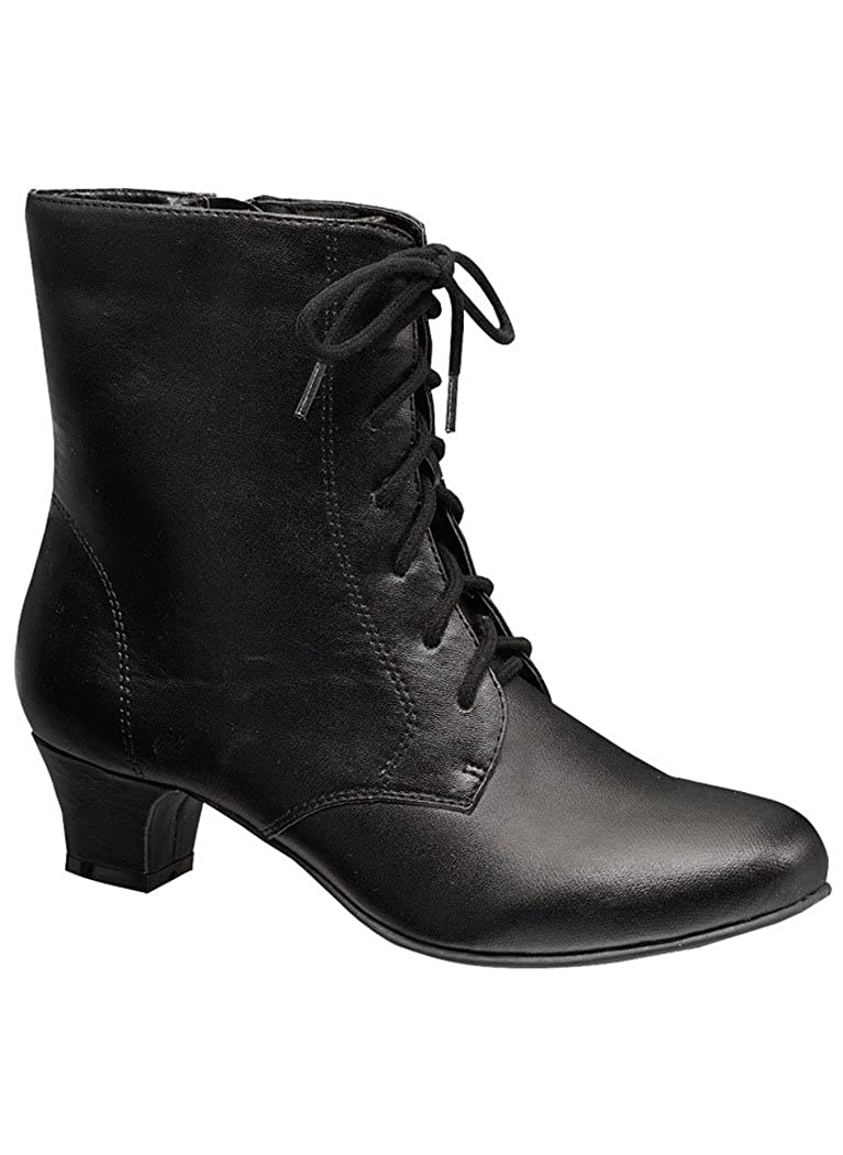 Ladies Victorian Boots & Shoes Angel Flex Jada $39.99 AT vintagedancer.com