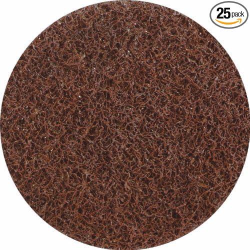 United Abrasives-SAIT 77312 3-Inch Lok-R Non-Woven Disc 25-Pack
