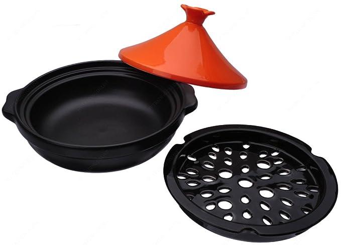 M.V. Trading Tajín de cocina para vitrocerámica o horno, 1 ...