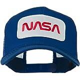 e4Hats.com NASA Logo Embroidered Patched Mesh Back Cap