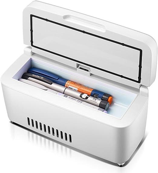 XQCYL Caja Refrigerada con Insulina Y Congelador De Interferón ...