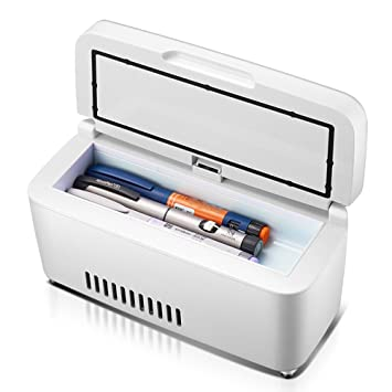 Kühlschränke Und Gefriergeräte Tragbare Medizinische Kühlschrank Auto Insulin Kühlschrank Tragbare Mini Kühlschrank Auto Elektrische Kühler Wiederaufladbare Insulin Refrige