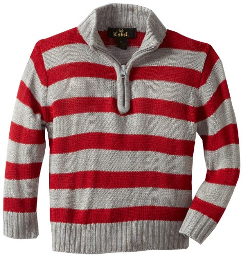 X-Label Boys 2-7 Rugby Stripe Sweater