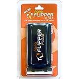 FL!PPER Flipper Cleaner Float - 2-in-1 Floating Magnetic Aquarium Glass Cleaner - Fish Tank Algae Cleaner - Scrubber & Scrape