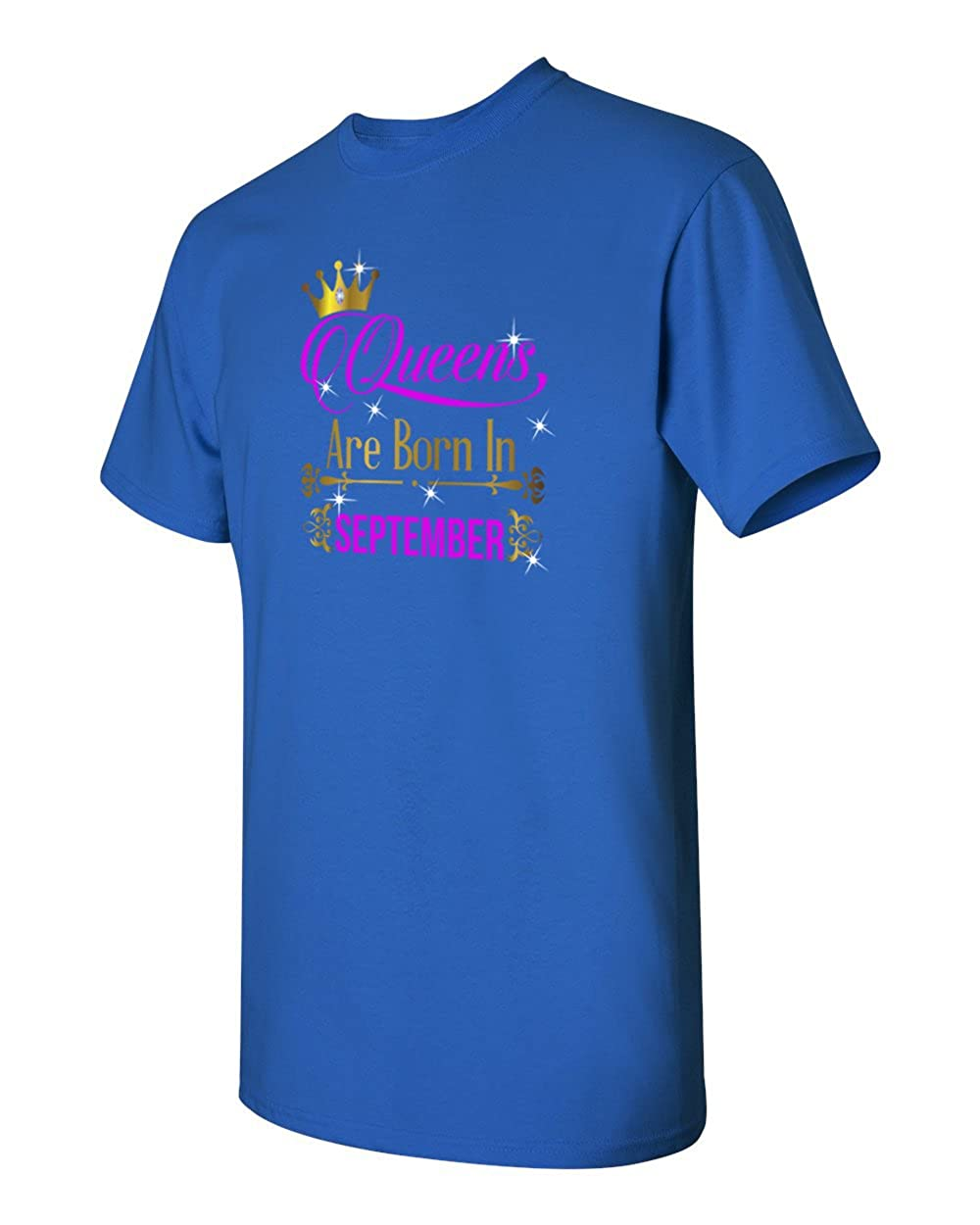 Birthday Gift Queens are Born in September T-Shirt
