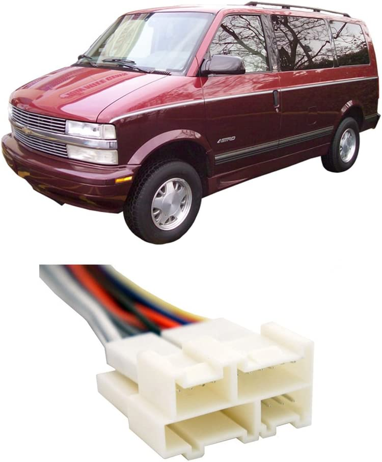 Compatible with Chevy Astro Van 1991-2005 Factory Stereo to Aftermarket Radio Install Harness
