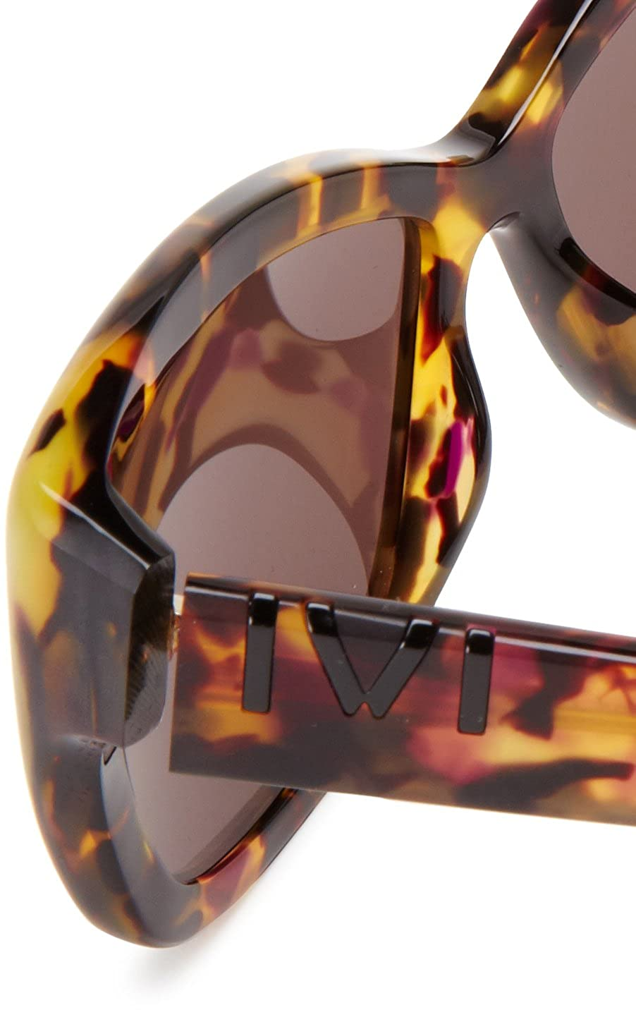 b276910190f3 IVI Beverly 06728-905 Butterfly Sunglasses,Vintage Tortoise & Black,59 mm:  Amazon.in: Clothing & Accessories