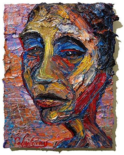 (UNTITLED x1281 - Original oil painting portrait)