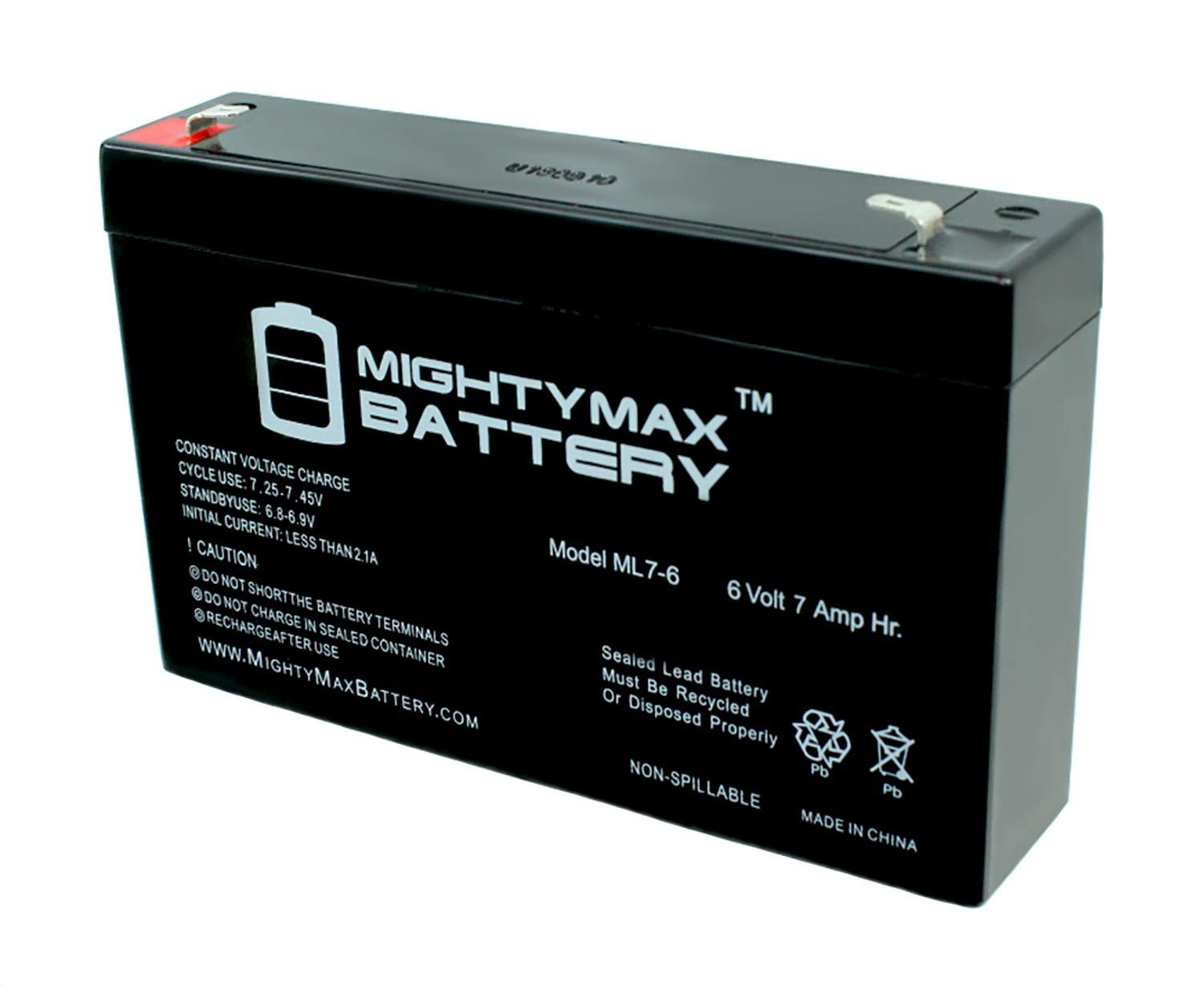 Mighty Max Battery Ride On Replacement 6V 7AH Battery For Kids Ride On Power Car Wheels brand product