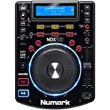 Numark NDX500 | Stand Alone USB / CD Player and Software Controller with Touch-Sensitive Jog Wheel, Audio Interface…