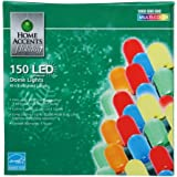 Home Accents Multicolor String Lights /150 LED Dome Lights 49ft, 8in