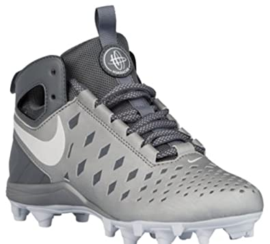 purchase cheap 5fac3 8b95b Nike Huarache 4 Le Lacrosse Cleats White Silver